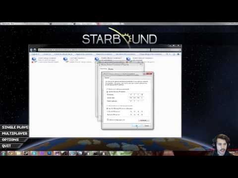 How To Make a Starbound Server (No Hamachi required!)
