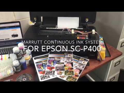 Marrutt Continuous Ink system for Epson SureColor SC-P400