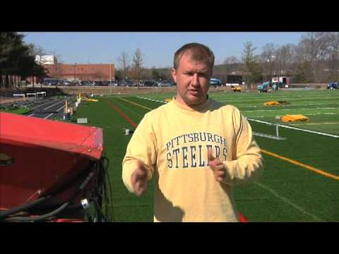 Sunny Acres Sports Systems Synthetic Turf Field Installation Video