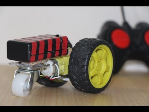 How To Make A Simple RC Car with 3 Wheel