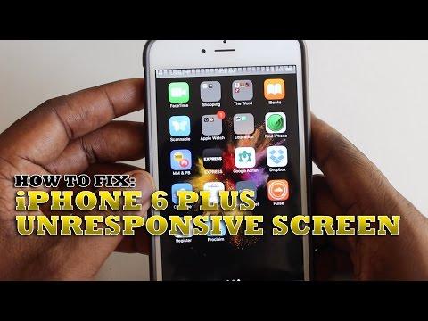 How To Fix iPhone 6 Plus Unresponsive Screen