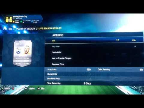 NEW Fifa 14 Trading Method| 1000 Coin Method| Easy money