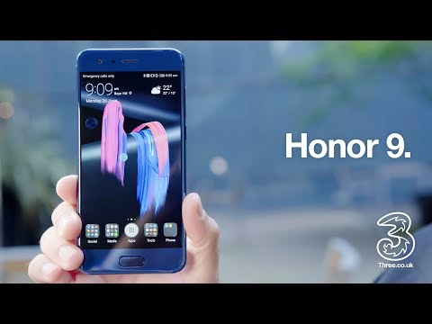 Honor 9 only on Three   First Look; Favourite Features   Three