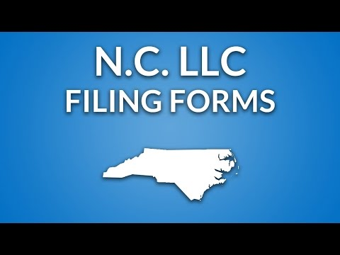 North Carolina LLC - Formation Documents