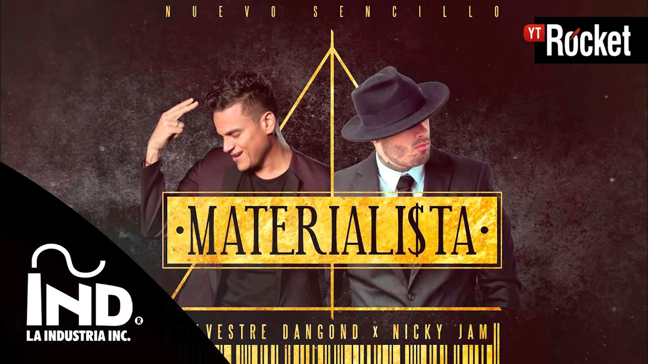 Materialista - Silvestre Dangond & Nicky Jam   Cover Audio