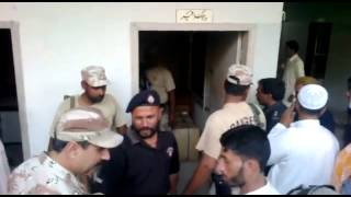 MQM Target Killer Arrested   of  Unit  126 Orangi  Town While Trying to Kill Pashtuns  23-04-2012