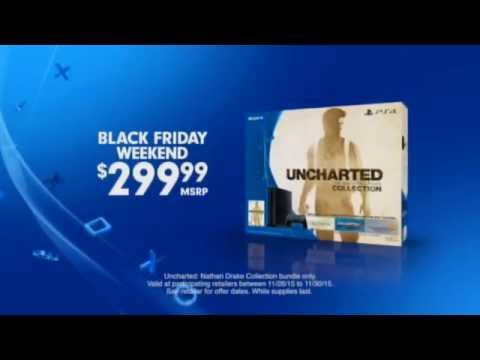 PlayStation 4 Black Friday Best Place To Play 2015 PS4 30 US TV Commercial