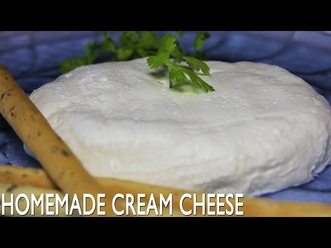 Homemade Cream Cheese | Creamy Yogurt Cheese Spread Recipe