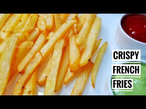 Crispy Simple and Quick Snack Recipe - French Fries Recipe/ How to make French Fries at home