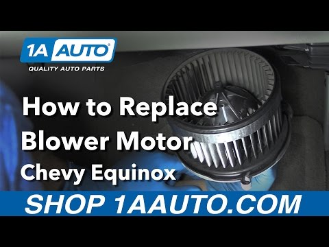 How to Replace Install Blower Motor 2006-15 Chevy Equinox Buy Quality Auto Parts at 1AAuto.com