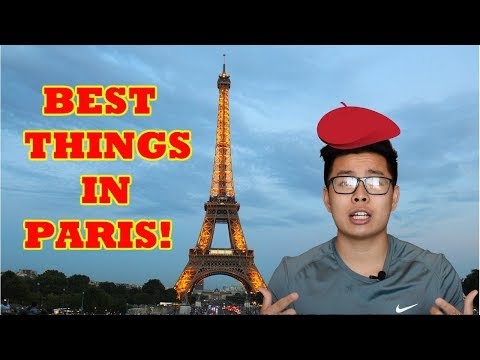 THINGS TO DO/EAT IN PARIS FRANCE 2018!