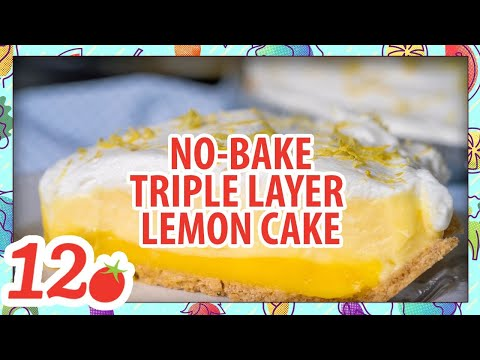How To Make: No Bake Triple Layer Lemon Cake