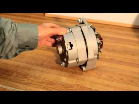 8 volt Alternator - postiive ground with A203 pulley
