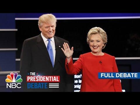 The First Presidential Debate: Hillary Clinton And Donald Trump (Full Debate) | NBC News