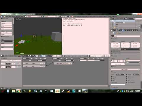 How to make a teleporter in the Blender Game Engine.