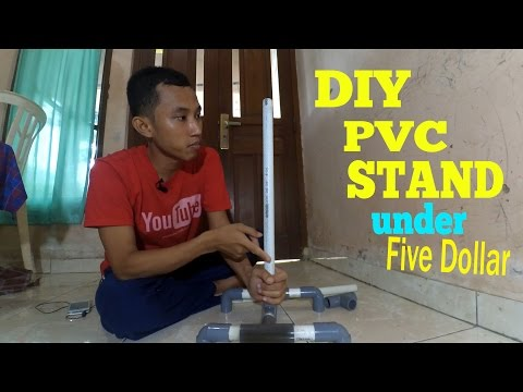 LFS Ep. 6 PVC : D.I.Y HOW TO MAKE PVC STAND | MIC / LAMP / SMARTPHONE