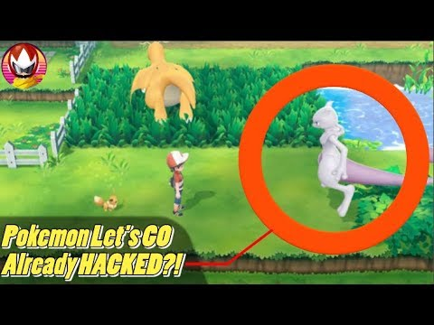 Pokemon Let's GO Pikachu Already Hacked Before Release?!