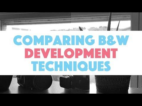 Comparison of 4 Development Techniques For B&W Film