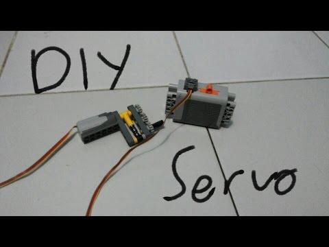 LEGO DIY Servo Motor