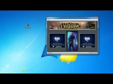 League of Legends FREE RP and Skins 2012 (11-11-2012)