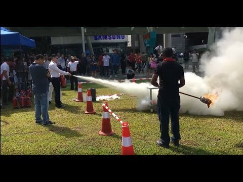Westgate Fire Drill Exercise 16th Nov 2016 - Singapore