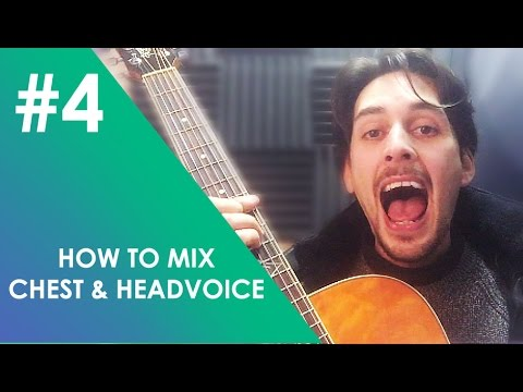 HOW TO MIX CHEST AND HEAD VOICE - PASSAGIO SINGING - TRAINING YOUR VOICE TO SING HIGHER EP#4