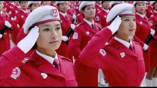 Défilé des femmes de l'armée chinoise