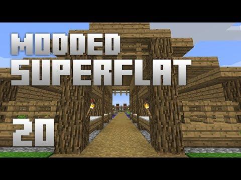 ►Modded Superflat - TOO GOOD?!   Ep. 20   Modded Minecraft Survival◄