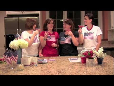 Red, White and Blue Party Part 5 - Patriotic Atmosphere