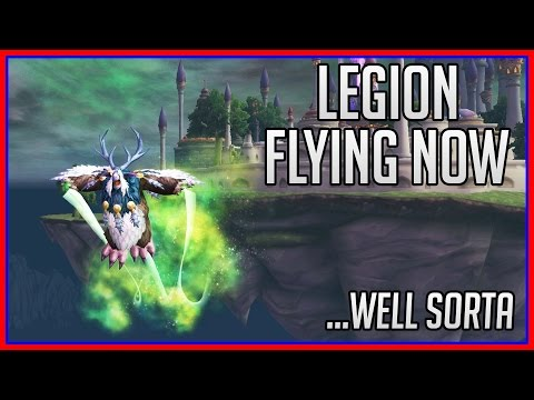 Legion Flying Toy - Emerald Winds | WoW Guide