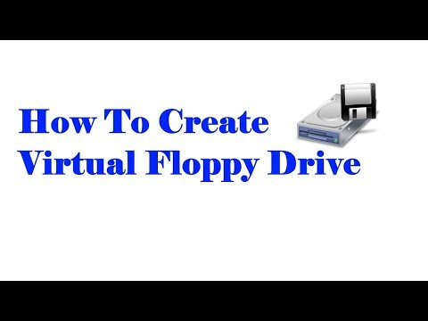 How To Create Virtual Floppy Drive
