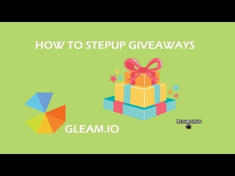 HOW TO SETUP GIVEAWAYS  -  TECH CLANS