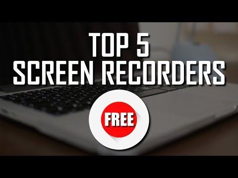 Top 5 Best Free Screen Recorders (2018)