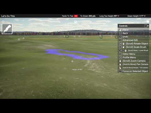 How to make your local golf course in The Golf Club 2