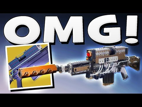 Destiny 2 - D.A.R.C.I IS NOW THE BEST WEAPON IN THE GAME !!