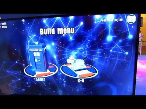 LEGO Dimensions: Doctor Who TARDIS in-game instructions