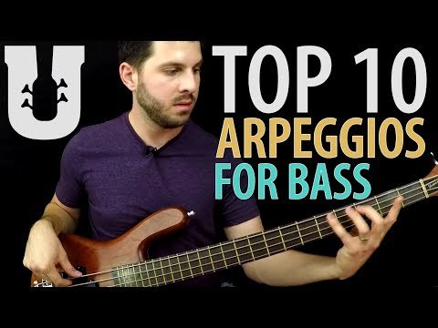Top 10 Bass Arpeggio Shapes You MUST Know! - Online Bass Lessons