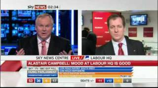 Adam Boulton and Alastair Campbell go toe to toe over Sky News bias against Labour in UK General Election