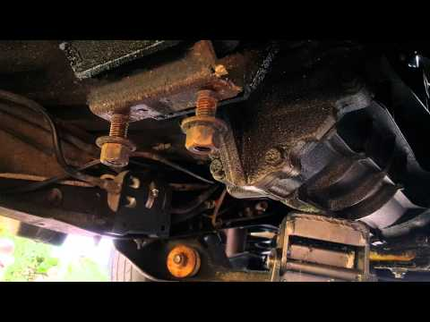 1993 Ford Ranger clutch and slave cylinder replace