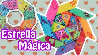 Hola hoy transformaremos esta famosa estrella transformer del origami a una carta con frases ocultas ideal para regalar a tus amigos o pareja en fechas especiales como el día del amor y la amistad!  Si gustas apoyarnos, te agradecería mucho un ME GUSTA, COMPARTIR O SUSCRBIRSE!  Buena vibra y checa los enlaces para que estemos en contacto ;)  CONTACTO mtereza88@gmail.com  MIS REDES SOCIALES  //Facebook//  http://www.facebook.com/floritereOficial  //TWITTER// http://twitter.com/fLoRiTeRe  //BLOG// http://elblogdefloritere.blogspot.com/   //CANAL// https://www.youtube.com/floritere  //Dirección de Correo postal//  APARTADO POSTAL #44, CENTRO OPERATIVO DE REPARTO NORTE,  FRAGUA No. 2545 SALTILLO, COAH. MÉXICO  CP 25280  La musica es: -Nombre de la pista:Funky One -Artista: Kevin MacLeod -URL de acceso directo a la pista: http://incompetech.com -Licencia para uso comercial: http://creativecommons.org/licenses/by/3.0/
