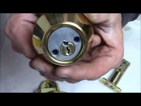 Brinks keyed entry and deadbolt How To open without the Key