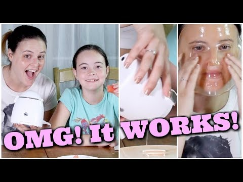 DIY Face Mask Maker Machine! OMG! Add Your OWN Fruit/Vegetable Juice! | What the ***K?