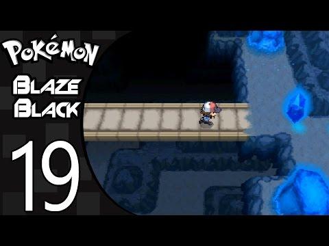 Pokemon Blaze Black Playthrough #19 - Exploring Chargestone Cave