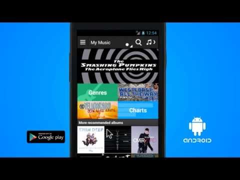 How to create a new playlist on an android handset