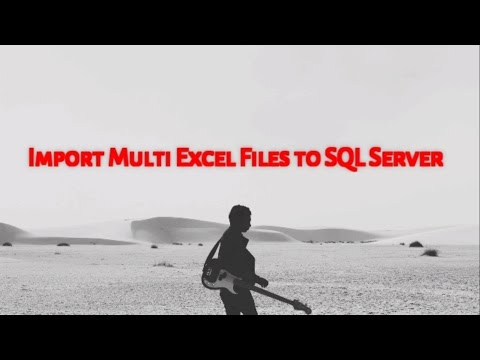 Import Multiple Excel files to SQL Server (Without SSIS)