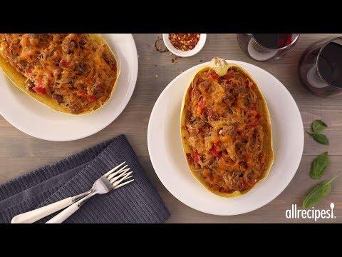 How to Make Spaghetti Squash Casserole in the Shell | Easy Weeknight Recipes | Allrecipes.com