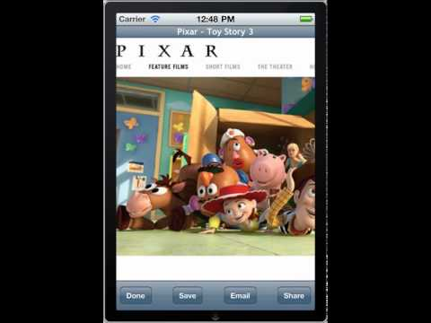 Webpage Capture iPhone 4 Retina