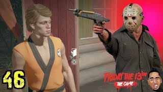 THE KARATE KID IS SO SAVAGE! Friday the 13th Gameplay #46