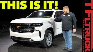 Breaking News - The All-New 2021 Chevy Tahoe & Suburban Go Big and Bold With Diesel Power!