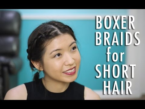 Boxer Braids for Short Hair | The Sunday Project